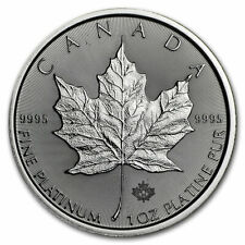 2020 RCM 1 oz Platinum Canadian Maple Leaf $50 Coin Brilliant Uncirculated - BU