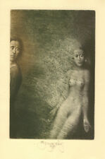 Original Erotic Etching by BRUNOVSKY ALBIN (1935-1997) Slovakia