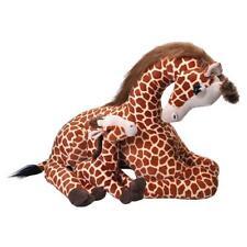 "Wild Republic Mom & Baby Jumbo Giraffe 30"" Large Soft Plush Toy"
