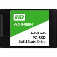 "Western Digital SSD240GB Green2.5"" 7mm 540MB/ s Read Solid State Drive New st"