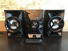 Sony Home Shelf Audio System MHC-EC619iP iPod iPhone Lightning Dock