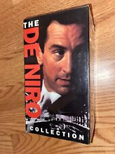 The De Niro Collection: GoodFellas/Mean Streets/Raging Bull - (3 Vhs set) New!
