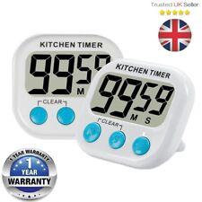 Smart Magnetic LCD Digital Kitchen Timer Countdown Cooking Multi Purpose Alarm