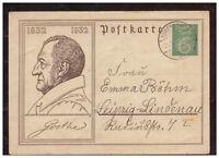 Deutsches Reich, Ganzsache P 213 Nörenberg Kr. Saatzig   Ińsko, Polen 21.03.1932