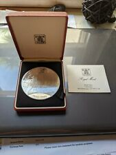 Falkland Island 1985 £25 Pounds 150g 100 Years of Self Sufficiency Silver Coin