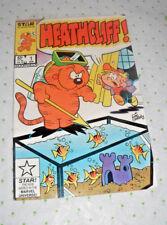 HEATHCLIFF #1 Apr 1985 by Marvel/Star Comics