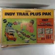 New ListingHot Wheels Mattels Indy Trail Plus Pak Make A Camper Trailer Indy Car Too