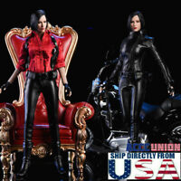 "1/6 Ada Wong Resident Evil Leather Suit Set For 12"" PHICEN TBL Hot Toys Figure"