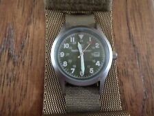 SMITH & WESSON MILITARY WATCH WITH COMMANDO WATCH BAND COYOTE BROWN