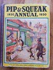 PIP & SQUEAK ANNUAL 1930. Illus. by Brisley, Nina K. & Lumley, Savile & et al.,