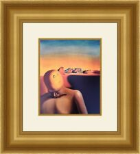 "Salvador Dali "" The Average Bureaucrat "" Custom Framed Print FREE SHIPPING"