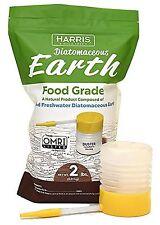 Harris Diatomaceous Earth Food Grade 2lb w/ Free Powder Duster
