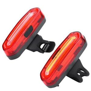 Outdoor COB Bike Rear Saddle Lamp Tail Safety Warning Light for Night Riding
