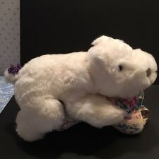 Rare Vintage Plush Gund-HYACINTH THE HIPPO 1983 Collector's Classic New-Last one