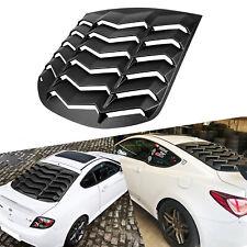 Rear Window Louver Matte Black Sun Shade Cover for Hyundai Genesis Coupe 10-15