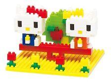 nanoblock - Hello Kitty: Kitty & Mimmy Nakayoshi Park - nano blocks NBH-056