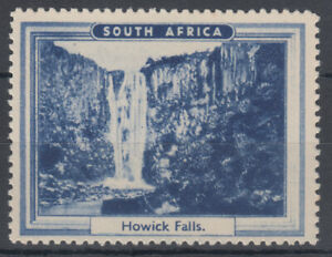 South Africa Howick Falls Cinderella / Label; MNH
