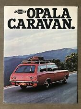 1976 Chevrolet Opala Caravan original Brazilian sales brochure