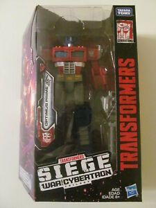 Transformers: Siege - War for Cybertron - Optimus Prime (Voyager Class) - Sealed