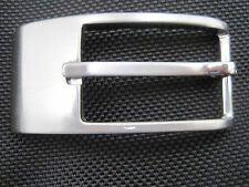 Tardini Silver Tone Metal Belt Buckle  New