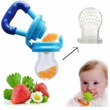 3 Pcs supplies Safe montessori  food Pacifier Feeder Baby Teether Nipple