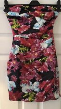 Brand New Ladies Lipsy Sweetheart Rouched Dress  Size 6 RRP £55