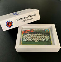 1980 Baltimore Orioles Team Set (27 cards)  - Palmer, Murray (NICE)  Storage Box