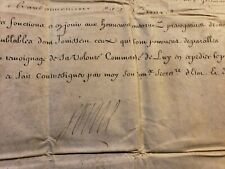 KING LOUIS XIV AUTOGRAPH ON MILITARY ORDER 2 DOCUMENTS 1713 König von Frankreich