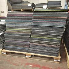 More details for patchwork carpet tiles mixed colours 50x50cm great for homes and offices