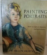 Painting Portraits Book by Helen Olsen How to Capture Likeness and Personality