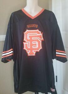 SF Giants Stitches  Baseball Mesh Shirt Jersey XL NWTs