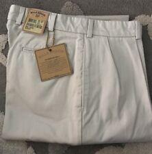 BRAND NEW-Bills khakis M1P-CECT Size 37 PLEATED Cement Cramerton Twill $195