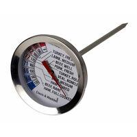 100% Genuine! Davis & Waddell Essentials Stainless Steel Roast Meat Thermometer!