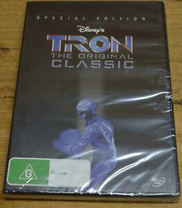 Tron (DVD, 2011) - Special Edition - Jeff Bridges - Region 4 - BNIP
