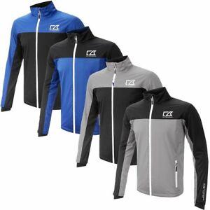 Cutter & Buck Golf Mens Hydro Tec Waterproof Full Zip Golf Jacket