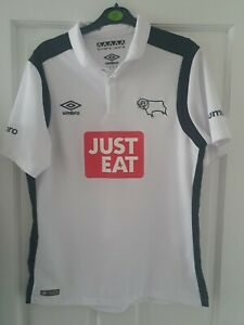 Derby County Football Shirt Top Size M
