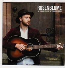 (GS612) Rosenblume, All Through The Fire, All Through The Rain - DJ CD