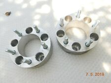 PAIR OF FORD WHEEL SPACERS 5 on 4-1/2''  2'' THICK MOPAR MUSTANG CHARGER DODGE