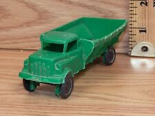 Vintage Genuine Wannatoy Plastic Green Dump Truck Toy Only -U.S.A.- **READ**