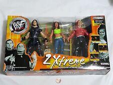 NEW WWF 2 Xtreme High Flyin' Xtreme Team Figures Matt Jeff Hardy Lita extreme