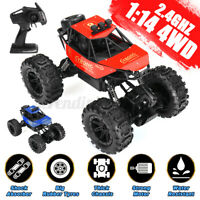 1:14 4WD RC Car Off-road Racing 2.4Ghz Remote Control Monster Crawler