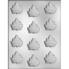 Maple Leaves Pieces Chocolate Candy Mold - Spring, Autumn, Trees, Leaves