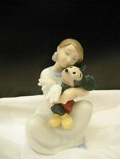 Nao by Lladro I Love You Mickey New in Original Box 01641