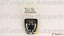 Toyota MR2 Spyder MR-S 2000-2005 Front Bumper Midship Runabout Black JDM Emblem