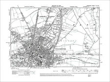 Winchester, Weeke, Old Map Hampshire 1910: 41SW