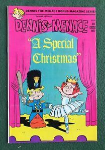 Dennis the Menace A Special Christmas Fawcett 1977 Hank Ketcham vf