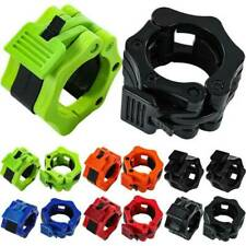 Dumbbell Bar Olympic Spinlock Collar Barbell Clip Weight Bars Safety Lock *