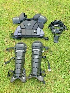 Champro Varsity Diamond IX3-UMP MASK Baseball Umpire Equipment Gear MacGregor