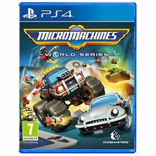 Micro Machines World Series PS4 Juego-a Estrenar!
