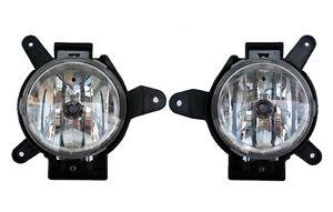 OEM LH RH Fog Lamp Assembly 2p 1Set For 10 11 12 Chevy Spark Matiz